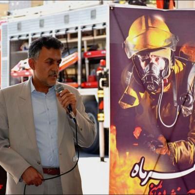 پیام شهردار نجف آباد بمناسبت روز آتش نشانی و ایمنی