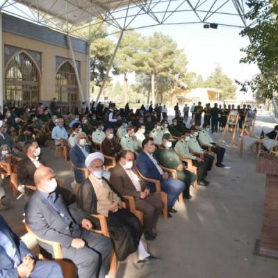 آیین غبار روبی و عطر افشانی مزار شهدا  به مناسبت گرامیداشت هفته دفاع مقدس